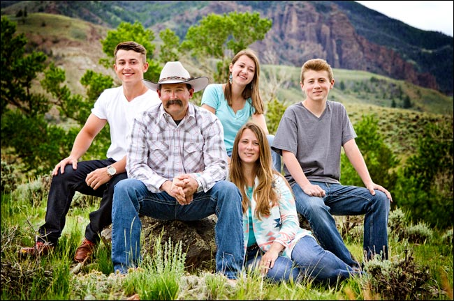 Our Family - Rand Creek Ranch Cabins Guest Ranch Cody WY Yellowstone Park